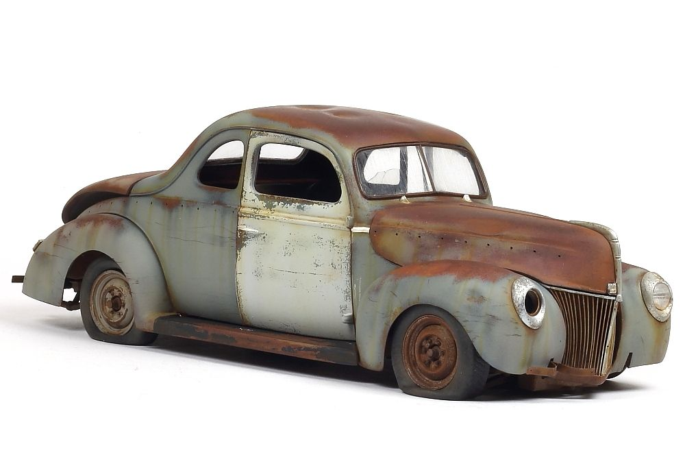 Rusty 1940 Ford Coupe | Rust | 1940 ford coupe, Plastic