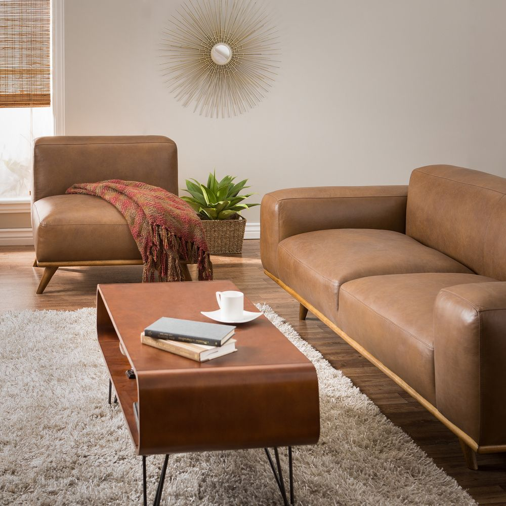 Dante Italian Oxford Tan Leather Sofa - Overstock™ Shopping - Great Deals  on Sofas & - Dante Italian Oxford Tan Leather Sofa - Overstock™ Shopping