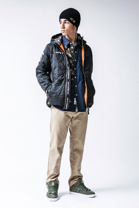 a0497661a7a AAPE by A Bathing Ape 2013 Fall Winter Lookbook
