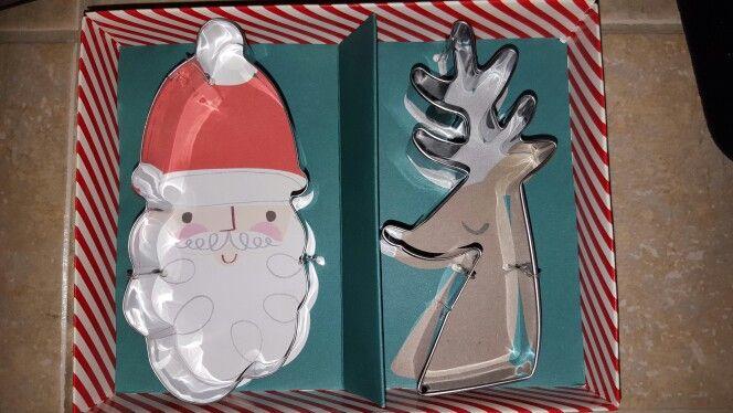 Meri Meri Jingle All The Way Cutters Santa 5 2 5 Reindeer 4 75