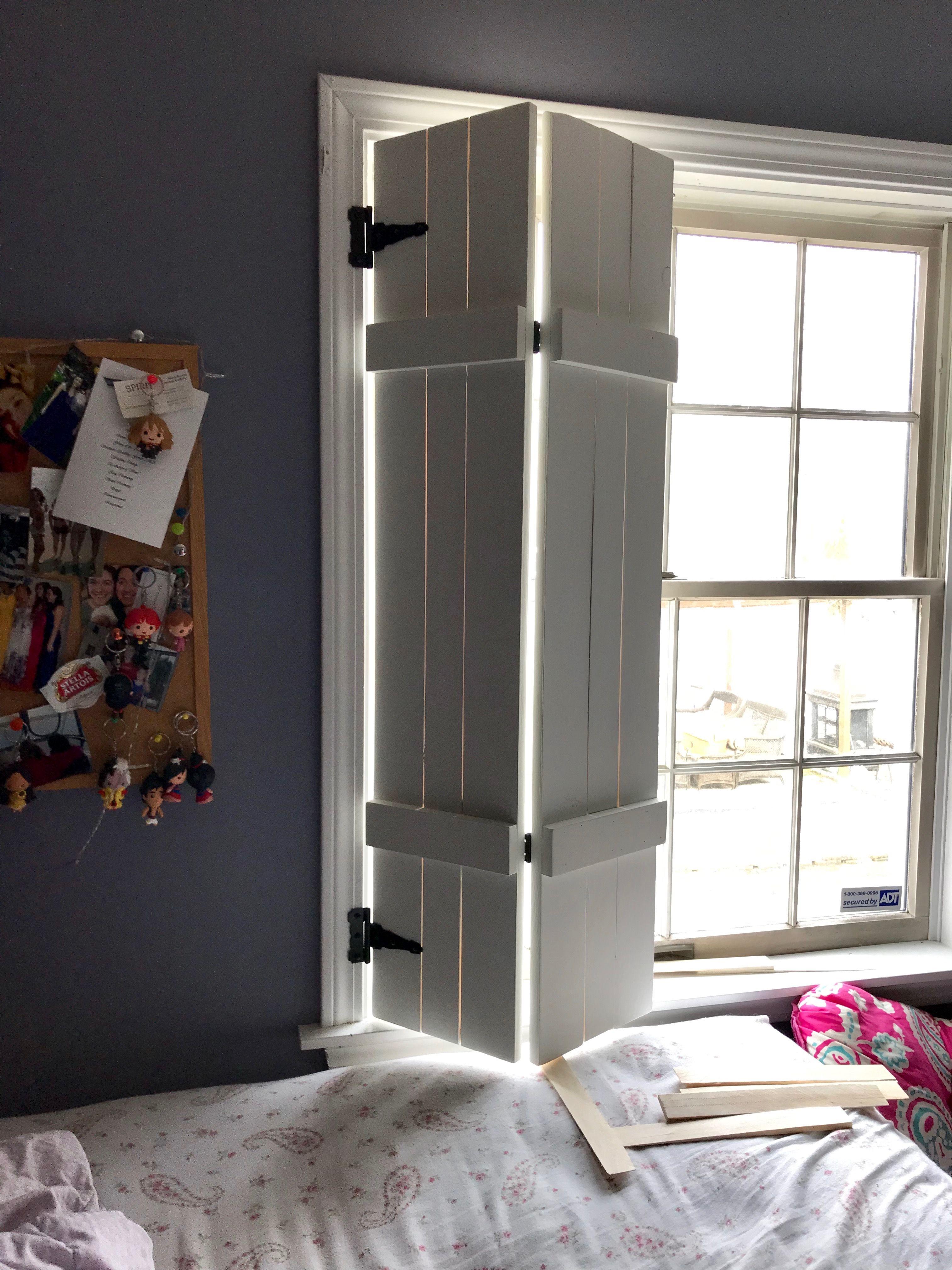 Diy farmhouse shutter indoor shutters shutters diy