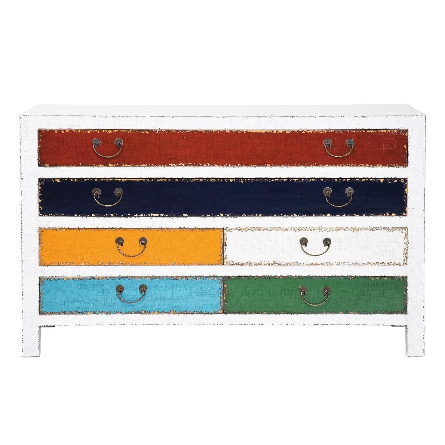 Kare Harlekin kare harlekin 6 drawer dresser white bedroom
