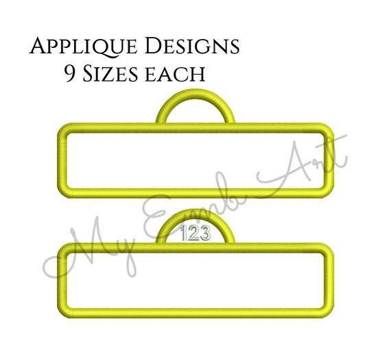 Sesame Street Frame Applique Design, Sesame Street