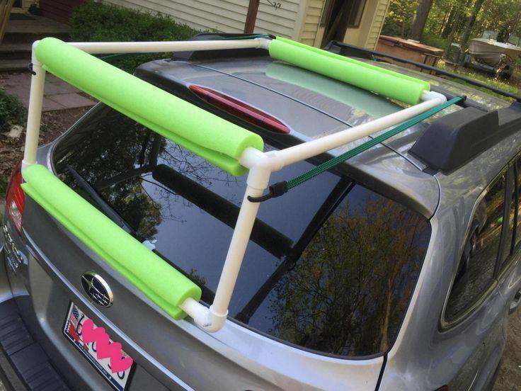 KayakingGearTrips Kayak storage
