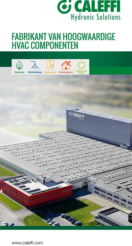 CALEFFI HVAC corporate rollup Hvac, Solutions