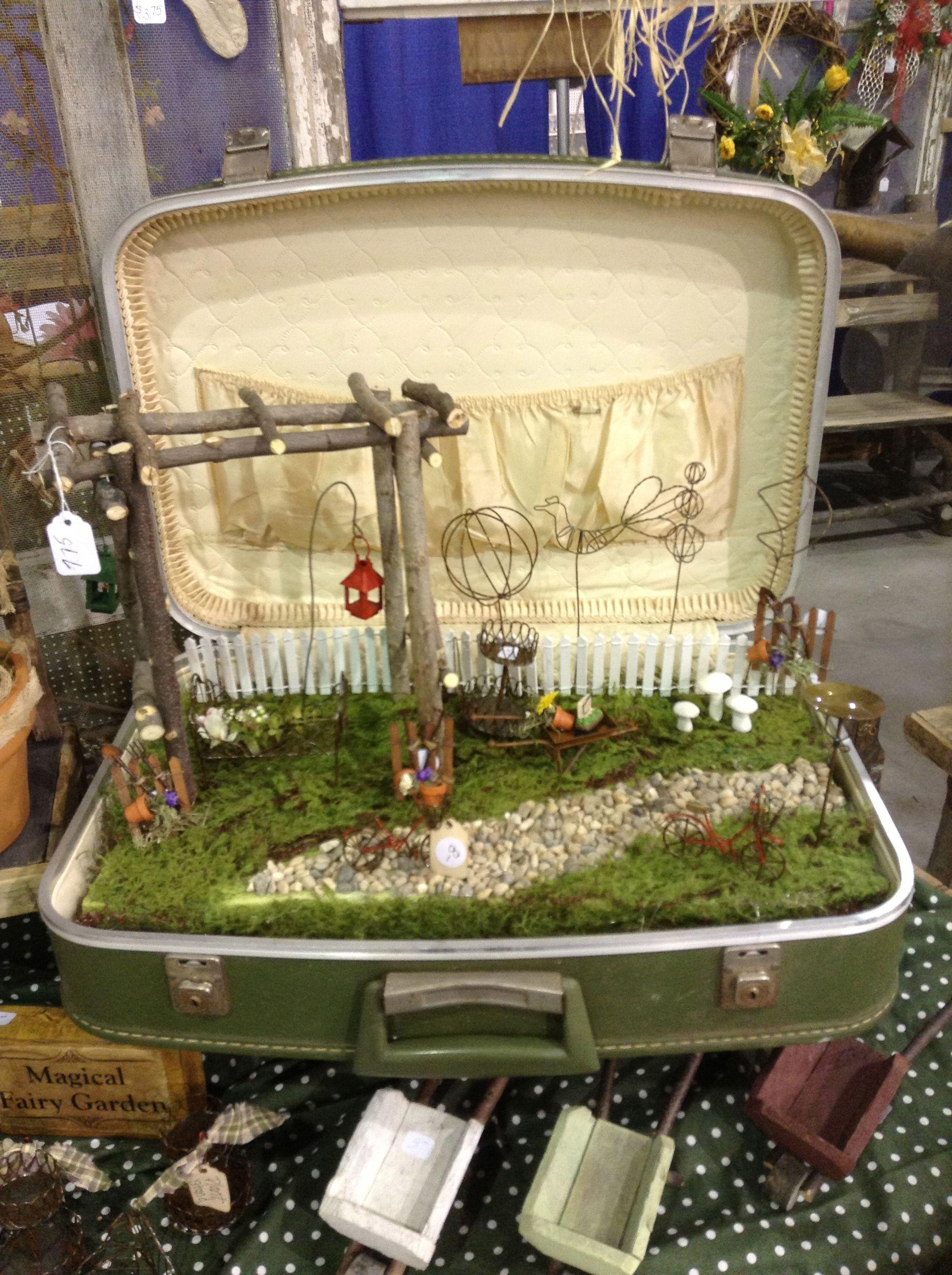 Mini Garden, Fairy Garden, Mini Garden Display, Garden