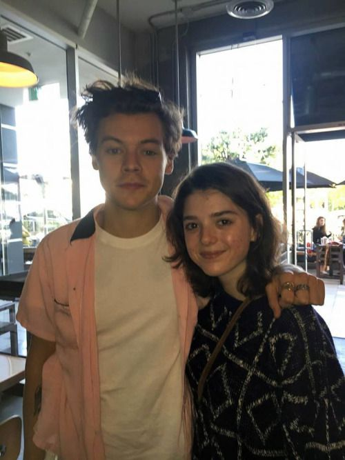 Harry Styles and a lucky fan