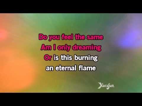 Karaoke Eternal Flame The Bangles Youtube Karaoke Karaoke Songs Eternal Flame