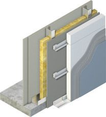 Insulated Render External Finish Build Up Sfs Parts Of
