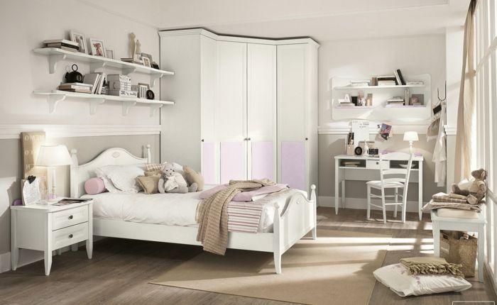 kleiderschrank design eckschrank schlafzimmer teppich offene - schlafzimmer mit eckschrank