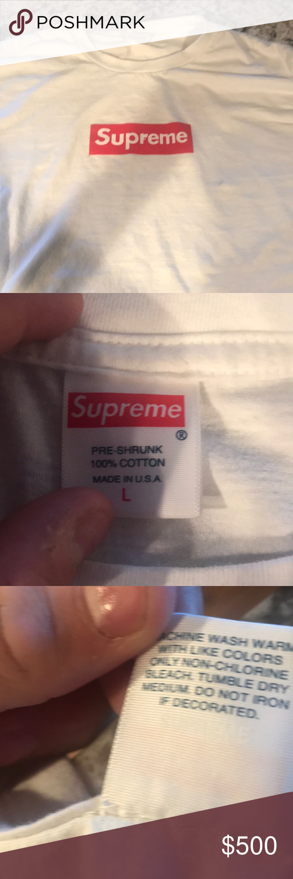 e120cb570590 Supreme x The Sopranos Box Logo Tee I have the tags and receipt. Extremely  rare. Offer me Supreme Shirts Tees - Short Sleeve