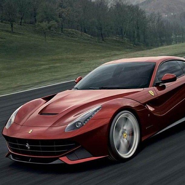 Gorgeous Curves On The Ferrari F12