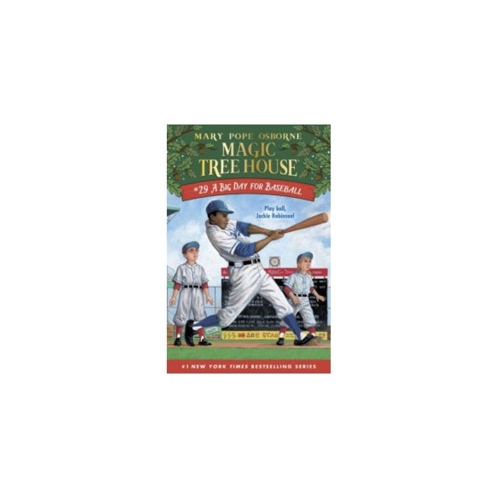 Big Day For Baseball Mth29 Paperback Mary Pope Osborne Magic Tree House Books Fiction And Nonfiction Paperbacks