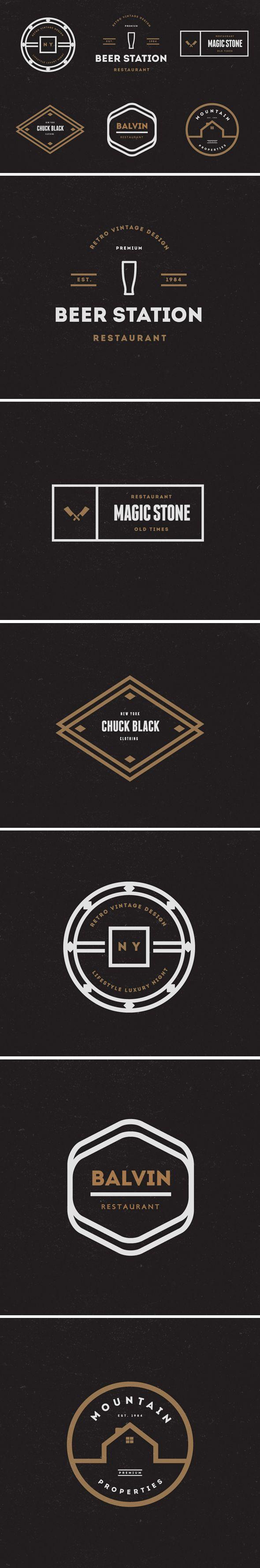 Vintage Logos Badges Vol 20 On Behance