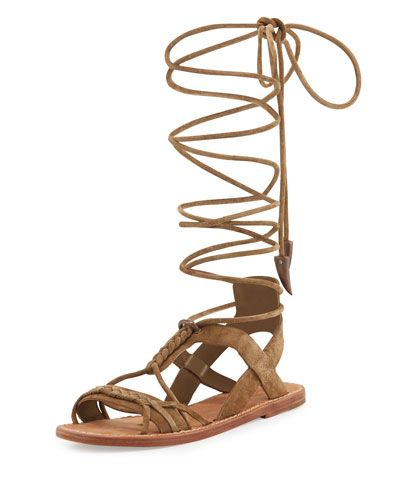 clearance countdown package fake cheap price Ash Suede Cage Sandals huge surprise cheap online 7QhhGk87Xc