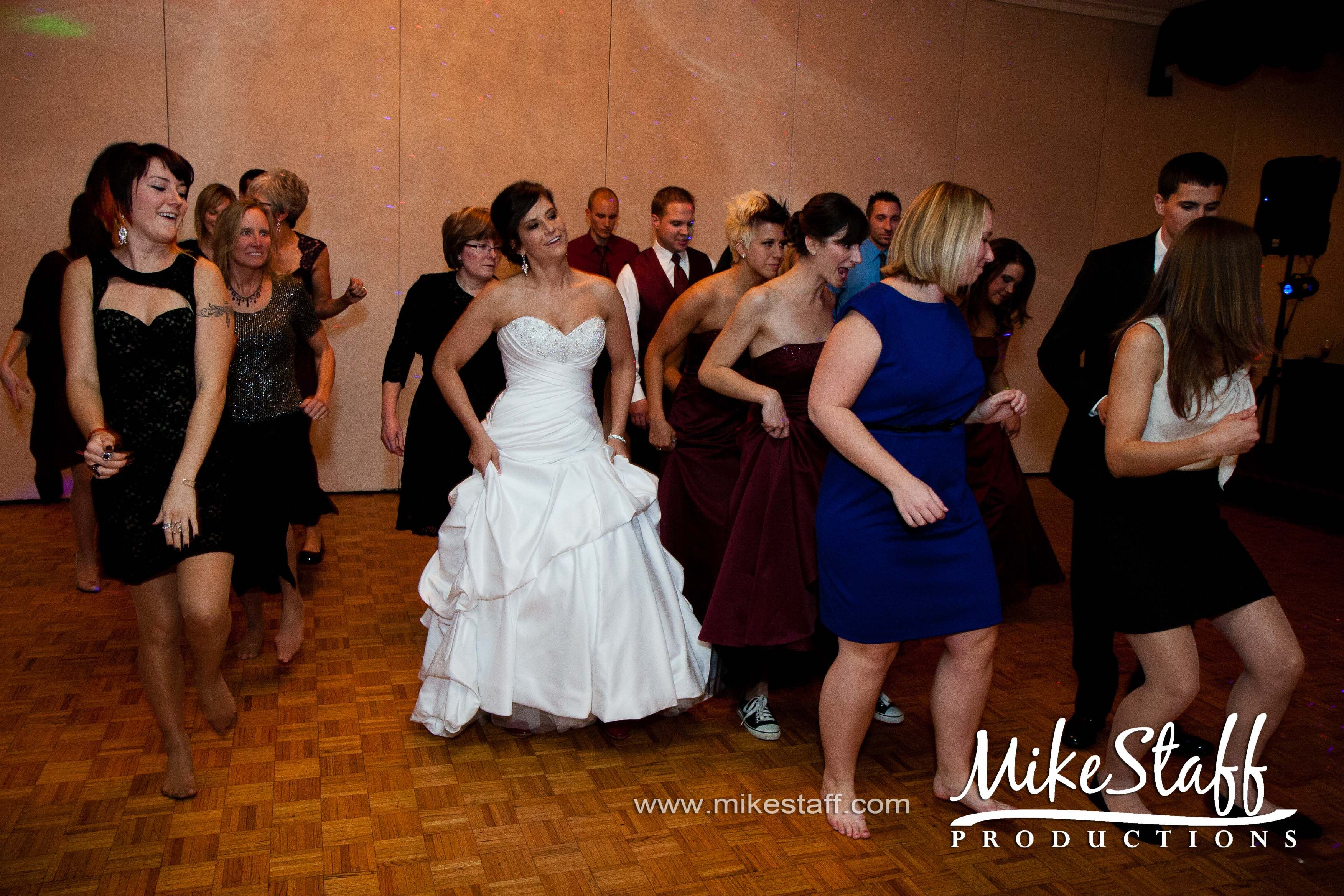 Michigan Wedding Chicago Mike Staff Productions Reception Photography