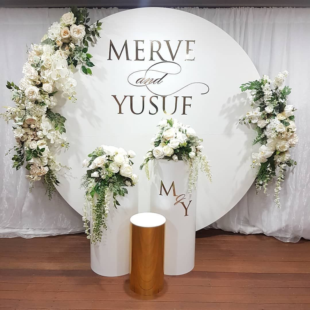 Jodiee S Blog Wedding Ceremony Table: Our Gold Foil Decals For Merve & Yusuf's Engagement On