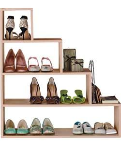 Under Stairs Shelving Unit understairs storage unit design. s shoe storage unit - beech