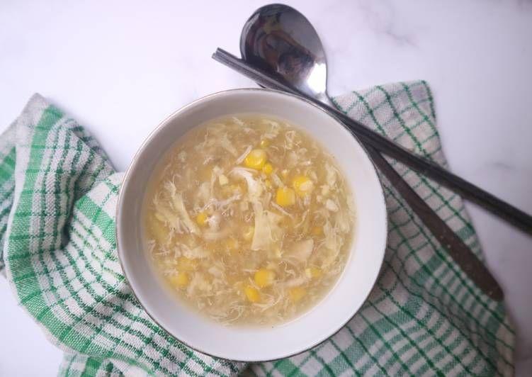 Resep Sup Kepiting Jagung Oleh Areli Herlina T Resep Makanan Resep Sup Kepiting