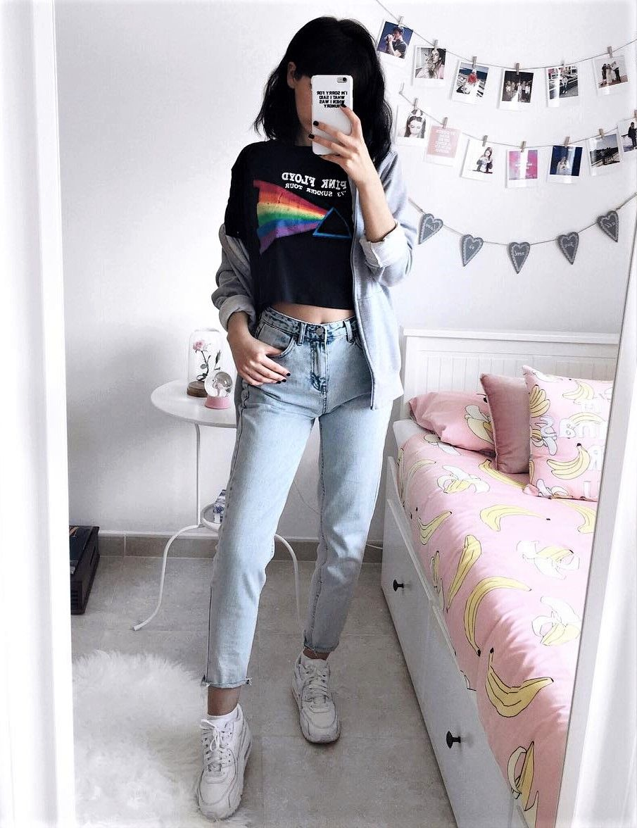 black nike shoes tumblr outfits grunge spring 868014