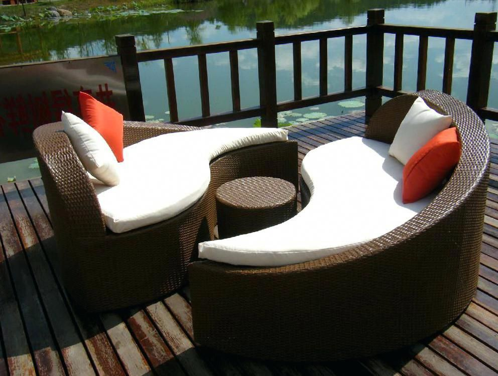 Large Round Cushions For Outdoor Furniture Overd Roundwickerchair