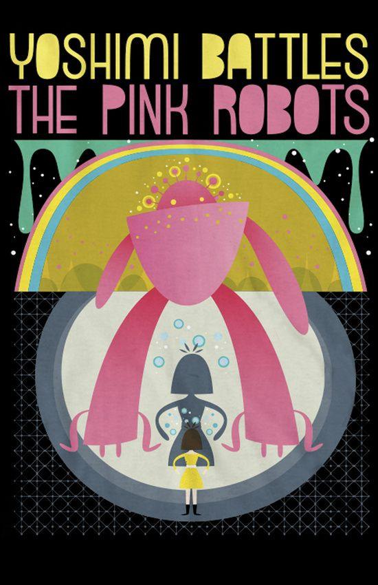 The Flaming Lips Yoshimi Battles The Pink Robots Art Print By Edx3000 Flaming Lips Robot Art Print Robot Art