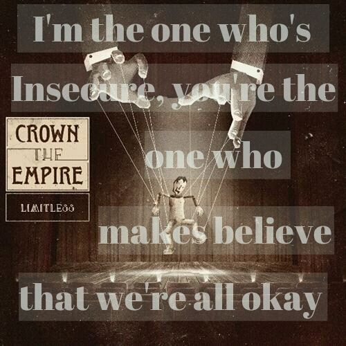 Crown the empire , one of my favourite bands
