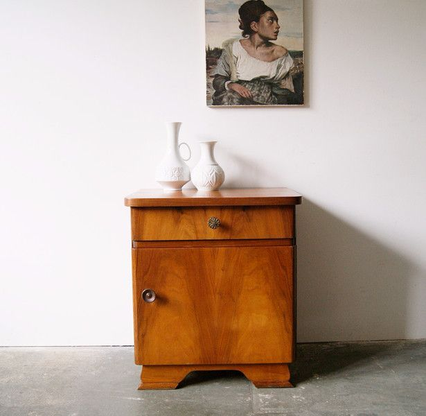 Vintage Kommoden Nachttisch Holz Kleine Kommode