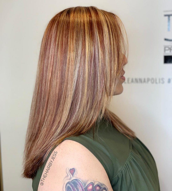 17 Stunning Dark Brown Hair with Blonde Highlights Gallery