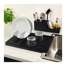 IKEA RINNIG Dish drainer, double-sided #kitchenutensils