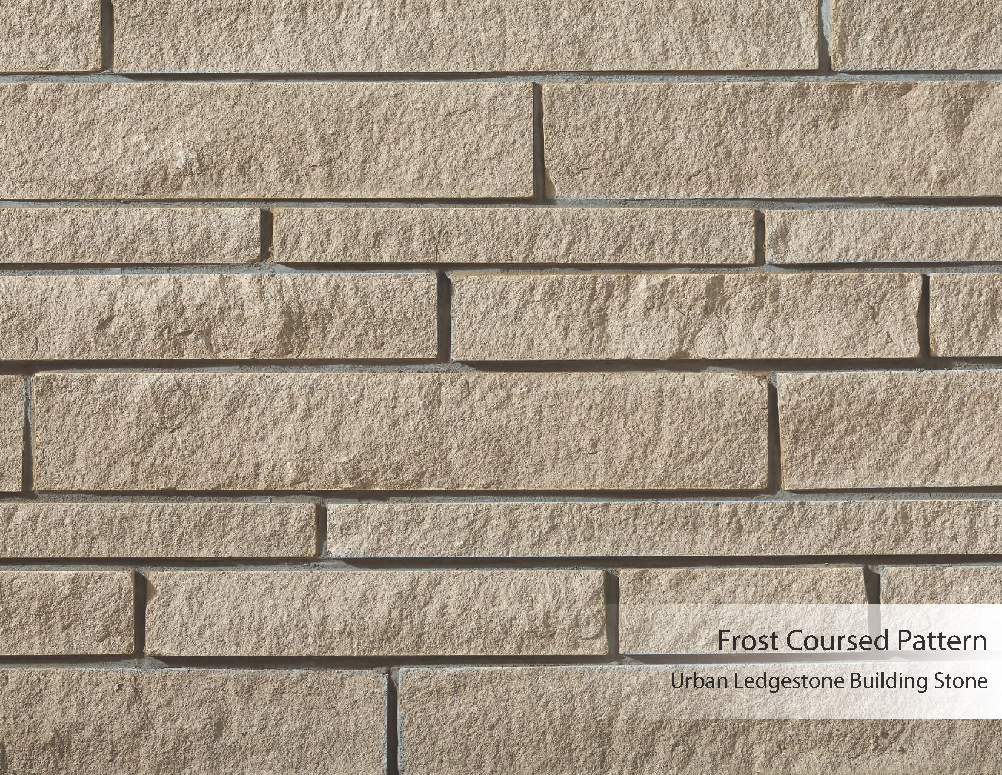 Urban Ledgestone Building Stone Frost Coursed Pattern Building Stone Ledgestone Concrete Floors