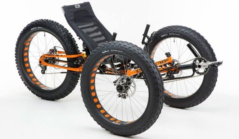 Inspired Cycle Engineering's Full Fat expedition-worthy trike