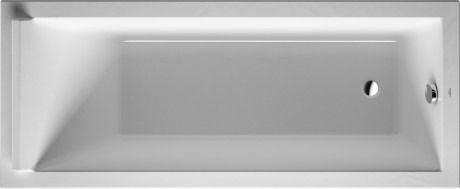 Duravit Starck kunststof inbouwbad acryl rechthoekig 170x80x46cm wit - 700336000000000 - Sanitairwinkel.nl 635,69