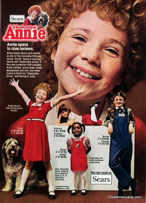Find Out About Annie The Hit Movie From 1982 That Starred Carol