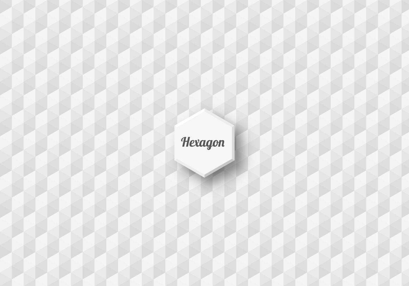Free Seamless Hexagon Vector