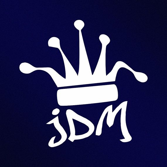 JDM Crown King Drift Stance Vinyl Decal Sticker By StickThemAll - Lexus custom vinyl decals for carthe shocker vinyl decal sticker jdm drifting nissan toyota honda