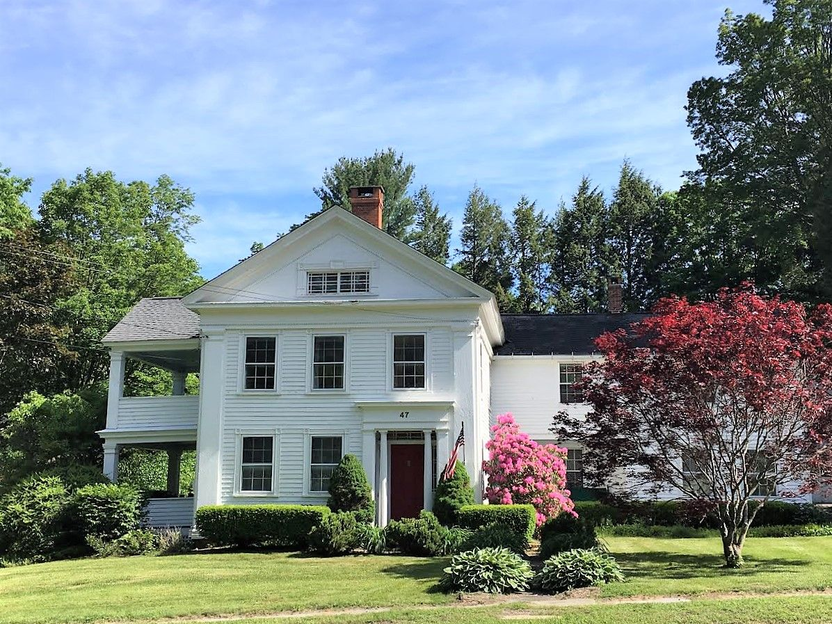 """The Parsonage"""" 1840 Greek Revival 