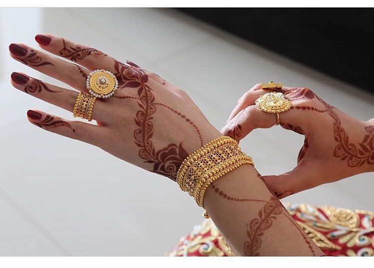 796 Likes 10 Comments نقش حناء Henaa00 On Instagram شرايكم حناء حنه حنا نقش Promise Jewelry Gold Jewelry Fashion Bridal Mehndi Designs