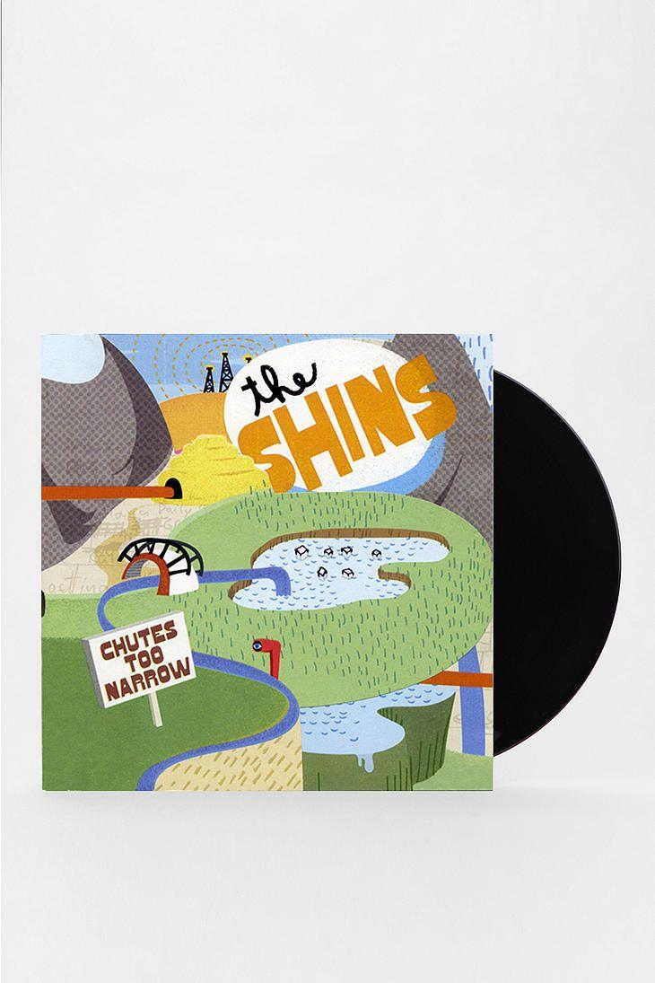 The Shins Chute S Too Narrow Lp The Shins Vinyl Album Covers