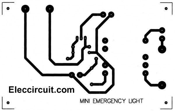 Mini emergency light circuits en 2020
