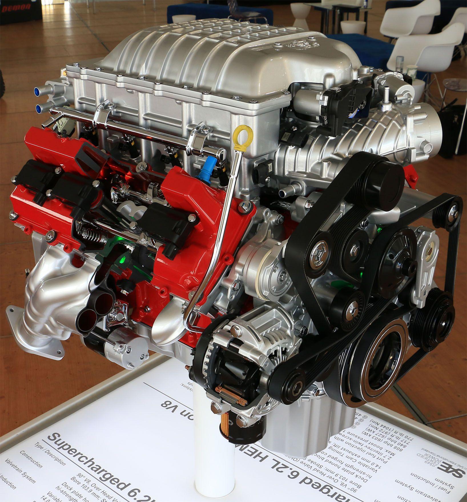 Flying High Dodge Challenger Srt8: 2018 Dodge Demon Engine 840 HP With High Octane Racing