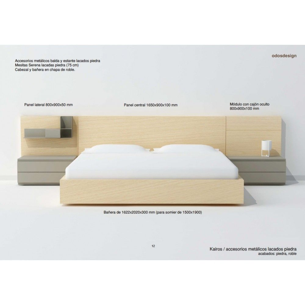 Cabecero Kairos matrimonio. Arlex | Bedrooms, Bed room and Bed frames