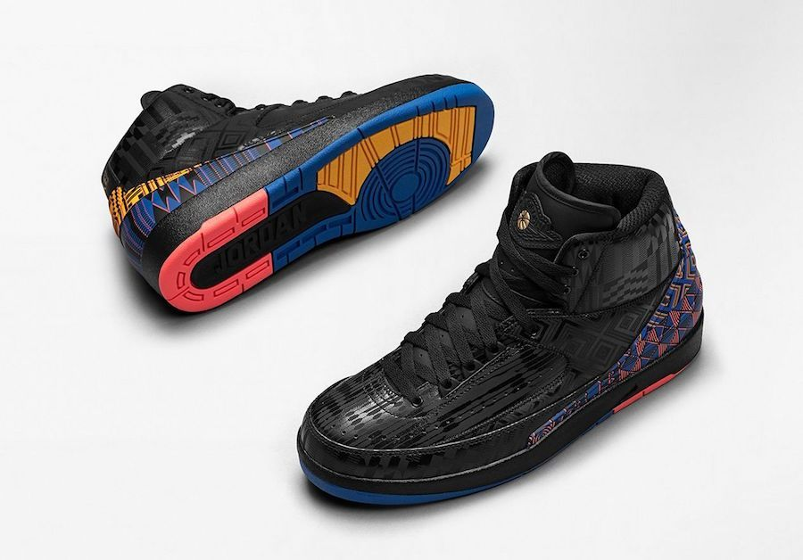 premium selection 9c9e2 13119 Air Jordan 2 Black History Month
