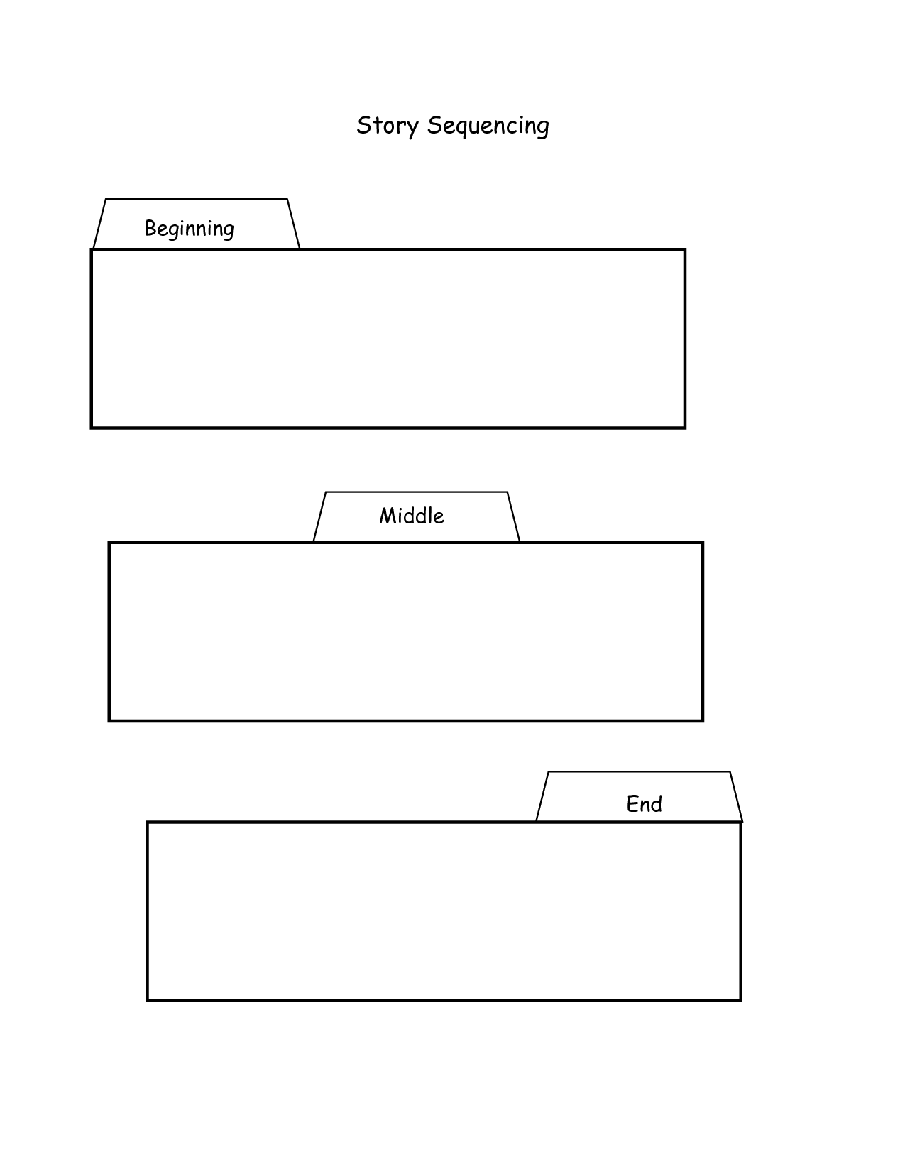 Kylene Beers Printables Sequencing Graphic Organizer Template