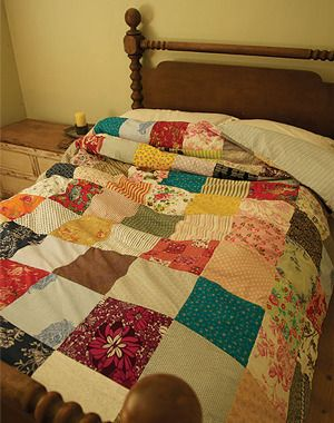 quilted doona cover :)