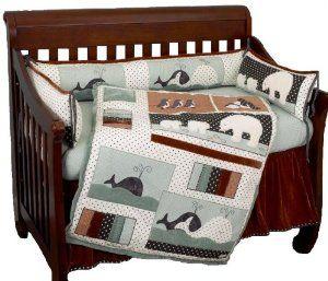 Cotton Tale Designs Arctic Babies 4-Piece Crib Bedding Set