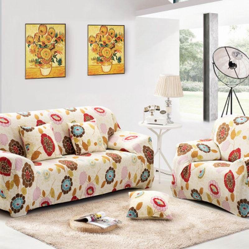 Fabric sofa cover Full cover non slip bined elastic sofa towel