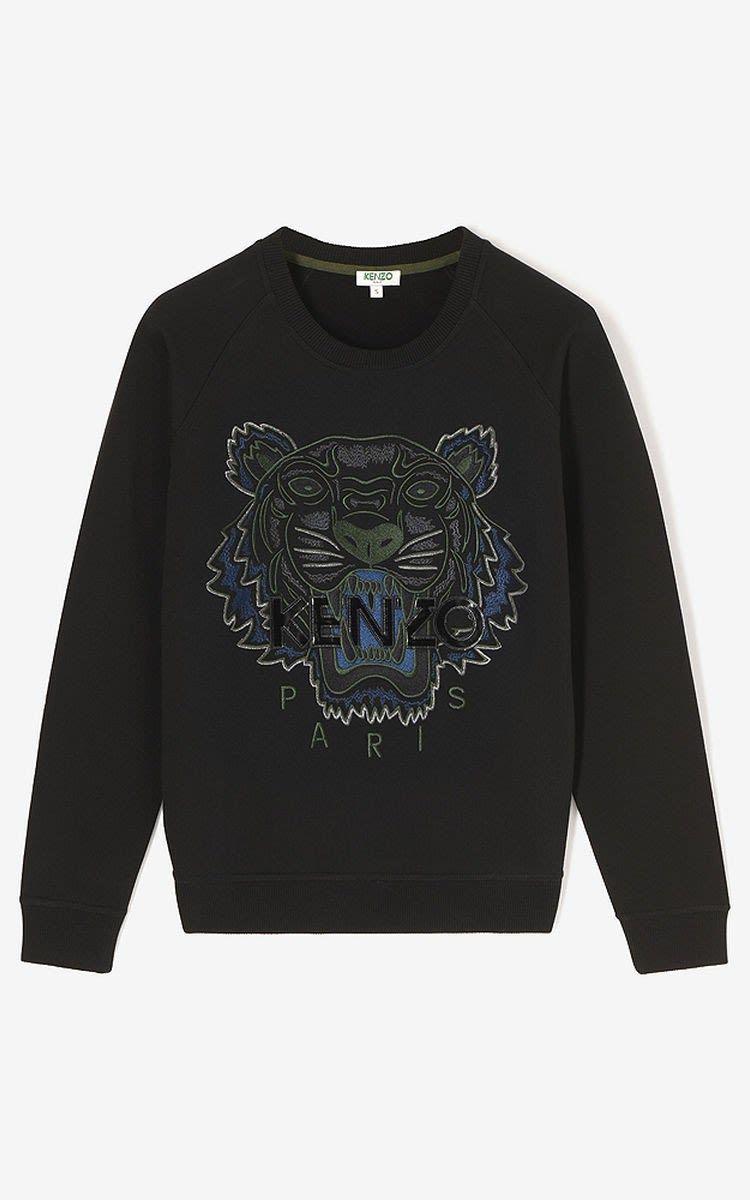 KENZO BLACK TIGER SWEATSHIRT.  kenzo  cloth     Kenzo   Pinterest ... b9a40d5f8dd