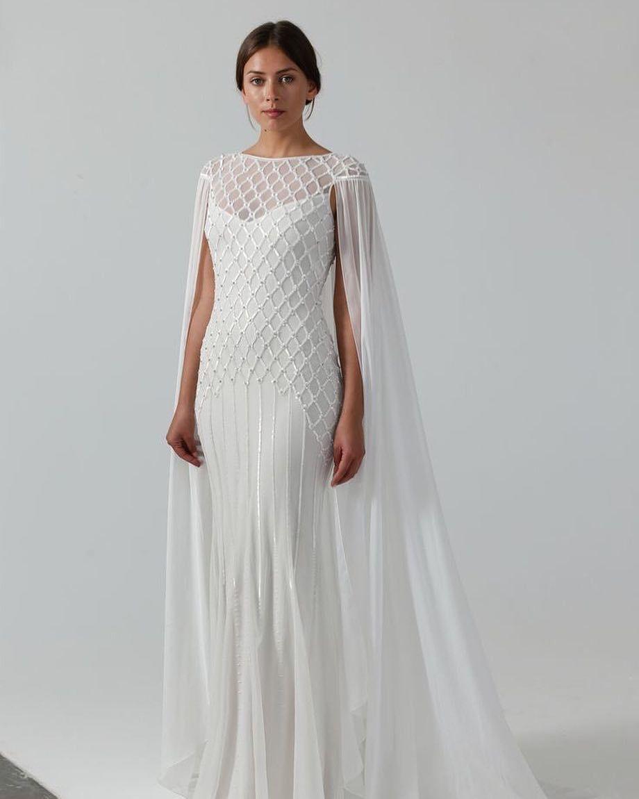 Hettie Temperley London Wedding Gown Ivory
