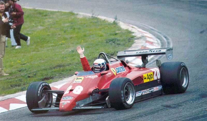Ferrari f1 126 C2 Zandword 82 n. 28 Pironi pi1
